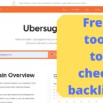 How to find backlinks of a website post using a free tool