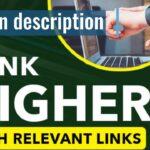 I will do link outreach and get backlinks
