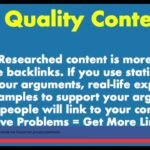 Link Building Strategies  - How To Get Quality Backlinks to Your Website