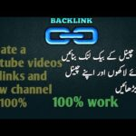 how to create a youtube backlinks and sell this service on freelancing