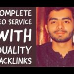 provide complete monthly SEO service with quality backlinks