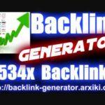 👍 🔴 Backlink Generator 2534x Backlinks for free