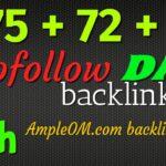 59th video: High DA 75 + 72 + 88 free backlinks guide