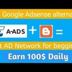 A-Ads | Best Ad network for begginers | Earn 1000$ daily | Google Adsense alternative