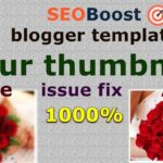 All  blogger template blur thumbnail fix 2021[ seoboost ] [ Dezine ]