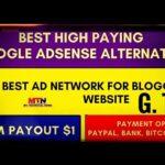 BEST GOOGLE ADSESNSE ALTERNATIVE|| NEW AD NETWORK||  EARN MORE MONEY
