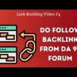Build a Dofollow Forum Backlink with DA 92 website for free | Dofollow Backlinks
