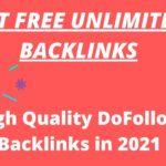 Create Free High Quality Do Follow Backlinks in 2021 ||blip
