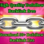 DoFollow Backlink 2020 |How to Create Backlinks | DoFollow Backlinks list | Instant Approval 2020 |