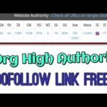High Authority Profile Dofollow Backlink free