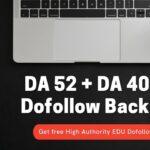 High Quality .Edu Backlinks from DA 52 and DA 40 websites | Dofollow Backlinks 2021