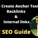 How To Create Anchor Text For Backlinks & Internallink SEO Optimization In WordPress [2021]