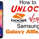 How to Unlock Virgin Mobile & Boost Mobile Samsung Galaxy A10e & A20 - Use in USA & Worldwide