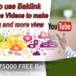 How to use Backlink YouTube Videos to make ranking and more view