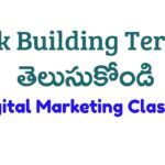 Link Building Terms in SEO   Learn Backlinks SEO Telugu  Digital Marketing in Telugu Course Class 21