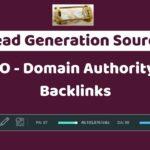 Week 2 - Digital Marketing SEO Domain Authority and Backlinks