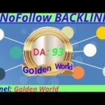 High Quality Nofollow Backlink | High DA PA Backlink | 93 DA