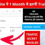 How I Got This Much Website Traffic ? (My Secret) Get Organic US UK Traffic to Your Website 2020  