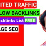 How to create backlinks to your website for free - [Do-Follow][No-Follow]