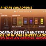 Star Wars Squadrons Devs Address Ranking Bug