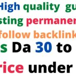 how to buy backlinks from me   Get high qulaity dofollow backlinks under 3$   gift video for you all