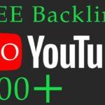 Free YouTube video Backlink Generator   Free YouTube Backlink Generator - Quality Video Backlinks