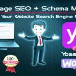 I will do wordpress yoast SEO on page with schema markup📈