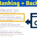 Improve Website Ranking with New Backlinks Strategy 2020