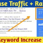 Increase Website Organic Traffic With Google Top Ranking