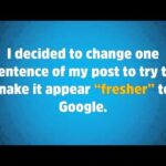 One Sentence Gives Higher Google Rankings in Just 3 Days